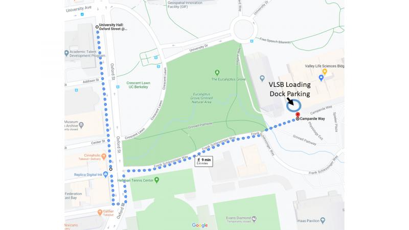 VLSB Loading Dock Map